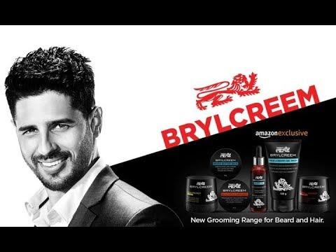 New Brylcreem  Beard and Hair grooming range   Sidharth Malhotra Naam YT