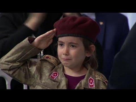 Erdogan Slammed For Telling Sobbing Girl, 6, Her 'martyrdom' Would Be Honoured