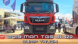 2019 MAN TGS 41.420 Dump Truck - Exterior And Interior - 2019 Truck Expo Lesnovo
