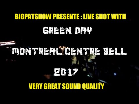 Green Day : Montreal QC, Centre Bell March 22 (LIVE SHOT)