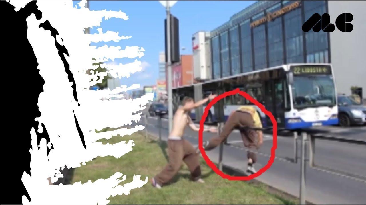 VIDEO LUCU TERBARU parkour in fail second FUNNY MOMENT