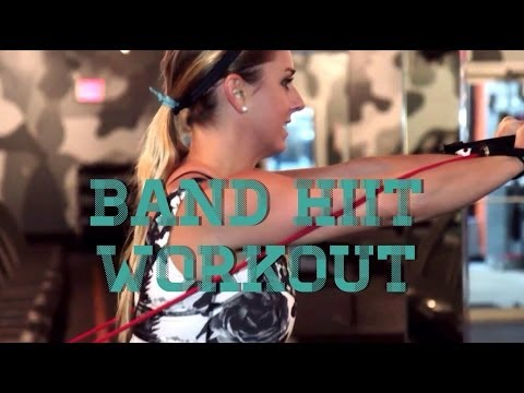 HIIT Treadmill Workout #2 w/ Resistance Band Workout