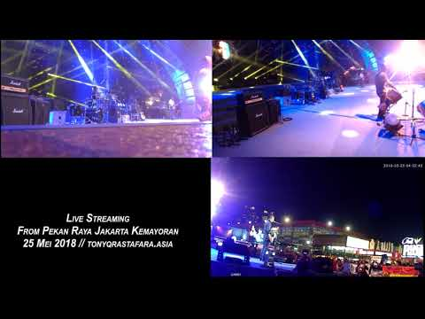 Live Streaming Tony Q Rastafara - PRJ 2018