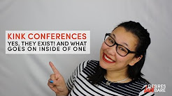 What happens at a kink conference?