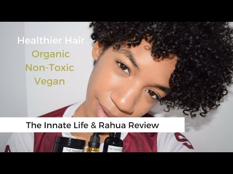 The Innate Life and Rahua Review | Natural, Organic & Vegan Hair Products