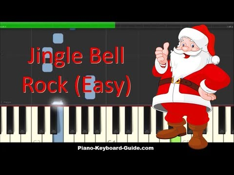 How To Play Jingle Bell Rock on Piano - Easy