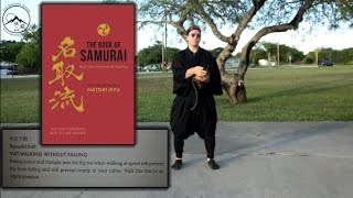 Fast Walking Without Falling in Waraji : The Book of the Samurai