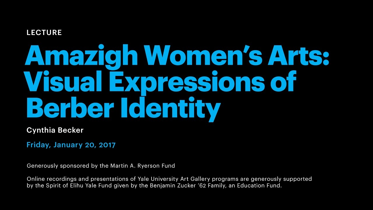 Amazigh womens arts visual expressions of berber identity youtube amazigh womens arts visual expressions of berber identity biocorpaavc