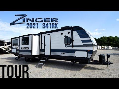 Zinger Rv 31 Sb Couchs Campers Ohio Rv Dealer Crossroads Rv Indiana Rv Youtube