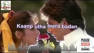 Dekha teri mast nigahon mein karaoke song for male singers with lyrics