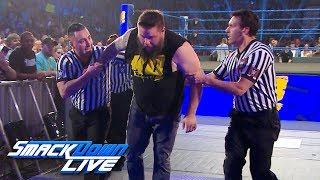 Kevin Owens struggles after Shane & Elias' attack: SmackDown Exclusive, Aug. 6, 2019