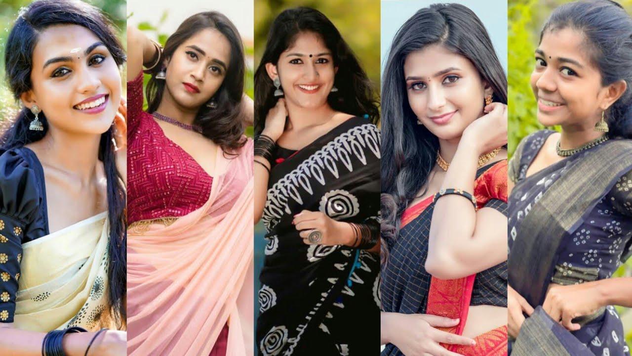Download Trending Tamil Saree Girls Instagram Reels l Saree Dance Instagram Reels l Tamil Girl Reels Video-82