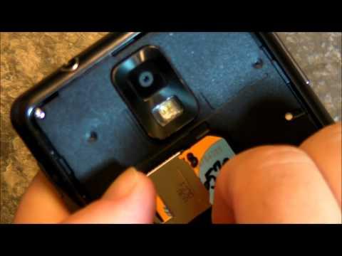 Infuse 4G microSD card