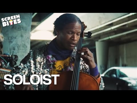 The Soloist - Jamie Foxx, Robert Downey Jr Cello on the road OFFICIAL HD VIDEO