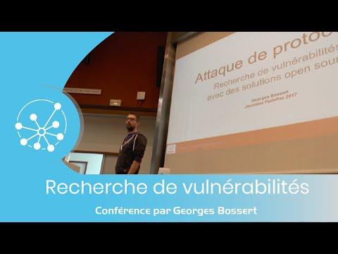 [Journées FedeRez 2017] Recherche de vulnérabilités avec des solutions Open-source (Georges Bossert)