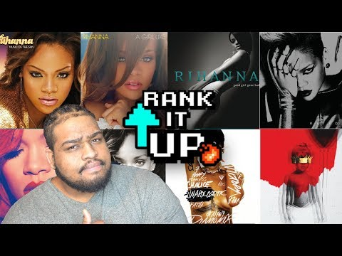RANKING RIHANNA'S ALBUMS FROM WORST TO BEST!!!