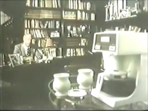 Joe DiMaggio For Mr. Coffee (1975)