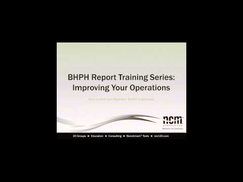 08/12/14 - BHPH Report Training Series: Improving Your Operations