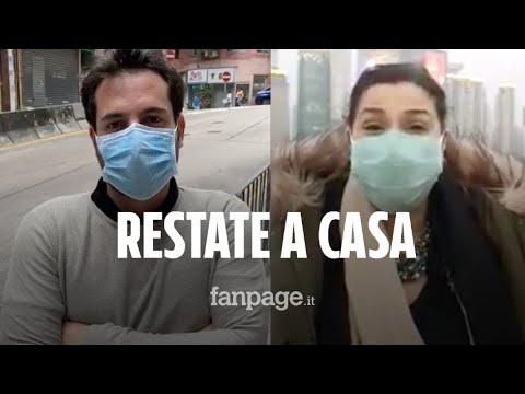 L'appello degli italiani rimasti in Cina: 'Se restate a casa il contagio rallenterà'