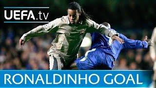 Ronaldinho: Amazing <b>Barcelona</b> goal against Chelsea