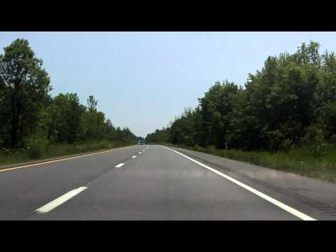 Adirondack Northway (Interstate 87 Exits 43 to 41) southbound