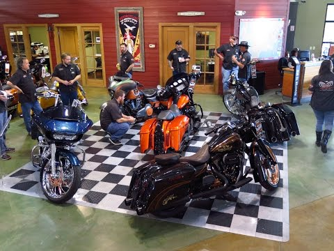 Harley Davidson Baddest Bagger Competition - FULL VIDEO
