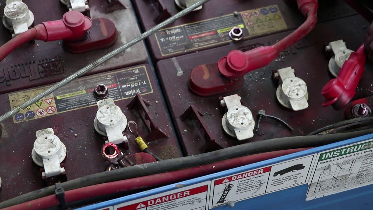 How To Replace A Battery Charger In A Genie Scissor Lift