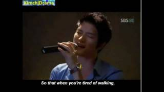 [ENG][FULL] Jaejoong sings in Protect the boss *funny*
