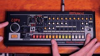Roland TR-08 Quick Start Demo