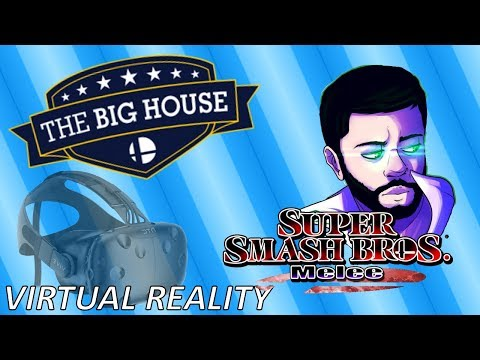 Big House 7 Virtual Reality - End Game Reactions in Melee Grand Finals - Smash Melee VR