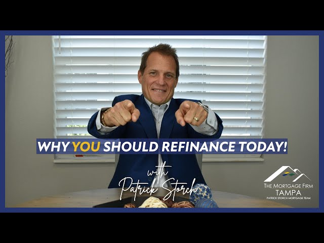 Why YOU Should Refinance 💰 TODAY!