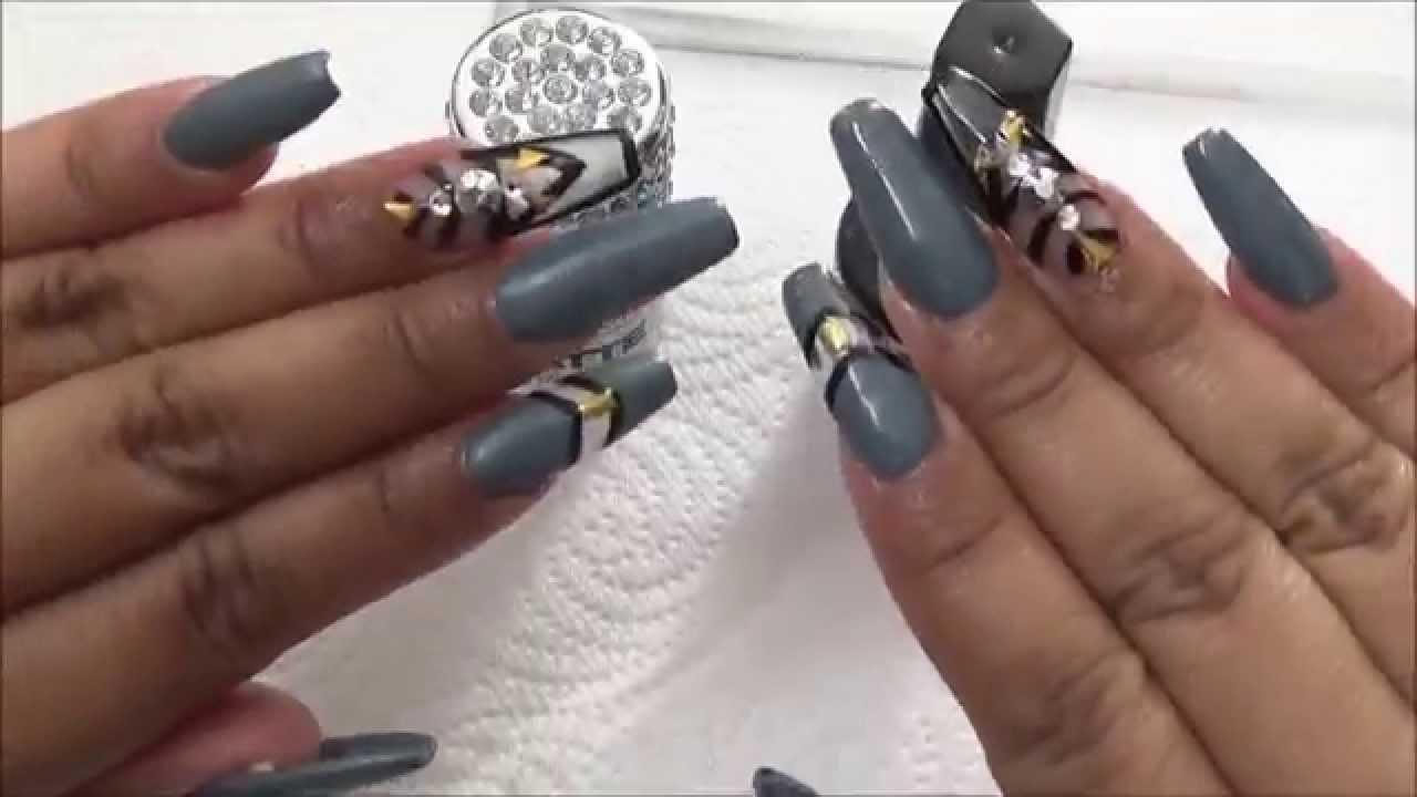 U as acrilicas squaletto grey youtube - Como hacer el color gris piedra ...