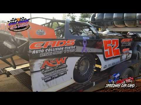 Winner - #52 Dillon Pierce - A-Hobby - 8-11-18 Fort Payne Motor Speedway - In Car Camera