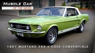 Muscle Car Of The Week Video #5: 1967 Ford Mustang GTA 289 K-Code