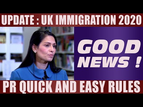 UK IMMIGRATION RULES 2020  | PRITI PATEL | Study In UK | International Student Visa | Study Abroad