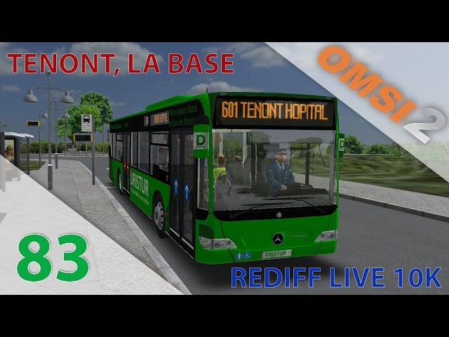 [OMSI 2] Rediff. Live 10k | Episode n°83 : Retour aux origines : Tenont !