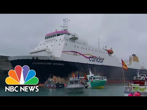 U.K. And France Are In A Naval Standoff Over A Fishing Dispute | NBC News NOW