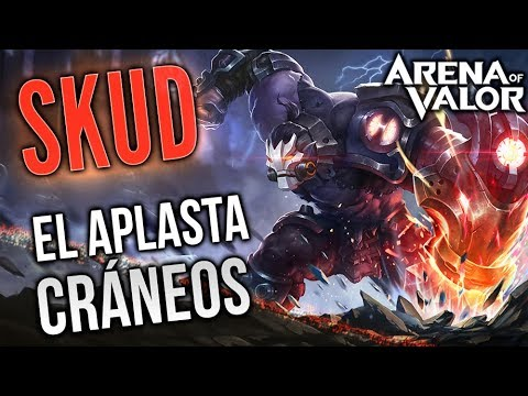 EL APLASTA CRÁNEOS | Skud Gameplay  | Arena of Valor | Black Ursus