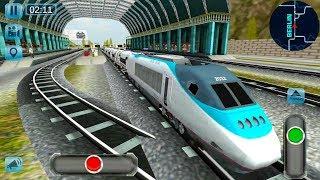 Euro Train Simulator 3D - Real Train Driver All Trains Unlocked - Android Gameplay FHD screenshot 4