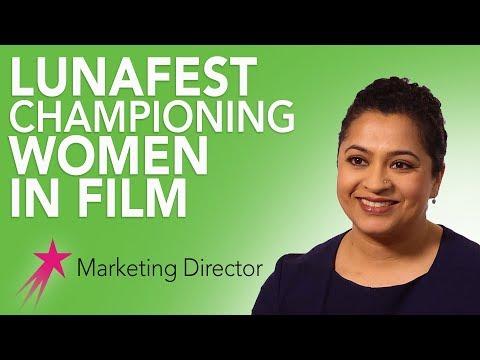 Marketing Director: Luna Film Festival - Ritu Mathur Career Girls Role Model