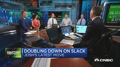 Trader double downs on Slack