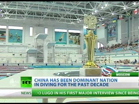 China has been dominant nation in diving for the past decade