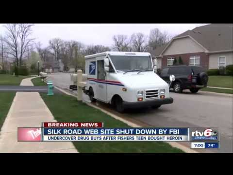 FBI shuts down Silk Road after Indiana teen has drugs shipped to his family home