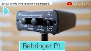Behringer P1 - Personal Monitor System