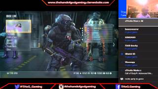 THoG Gaming live stream and funtage highlights!!!!