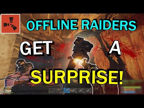 Rust - OFFLINE RAIDERS GET DESTROYED (PRETENDED TO BE OFFLINE) PVP & MORE thumbnail