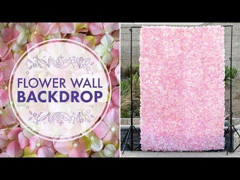 DIY Flower Wall Backdrop 🌸  BalsaCircle.com