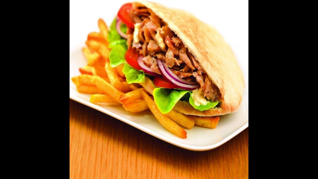 Recette Sandwich Grec Kebab Gyros Maison :)