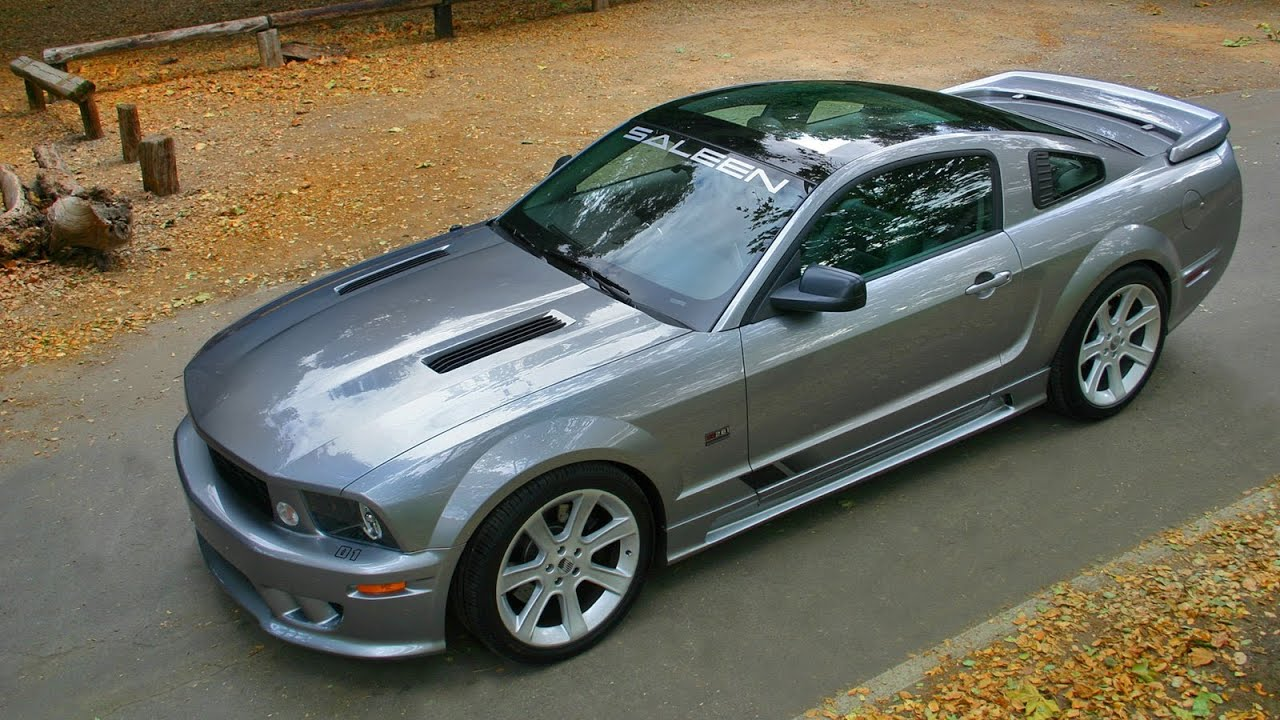 saleen ford mustang s281 scenic roof 2006 youtube. Black Bedroom Furniture Sets. Home Design Ideas