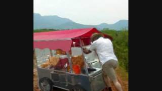 Mc colibri - carrinho de pipoca/ animado
